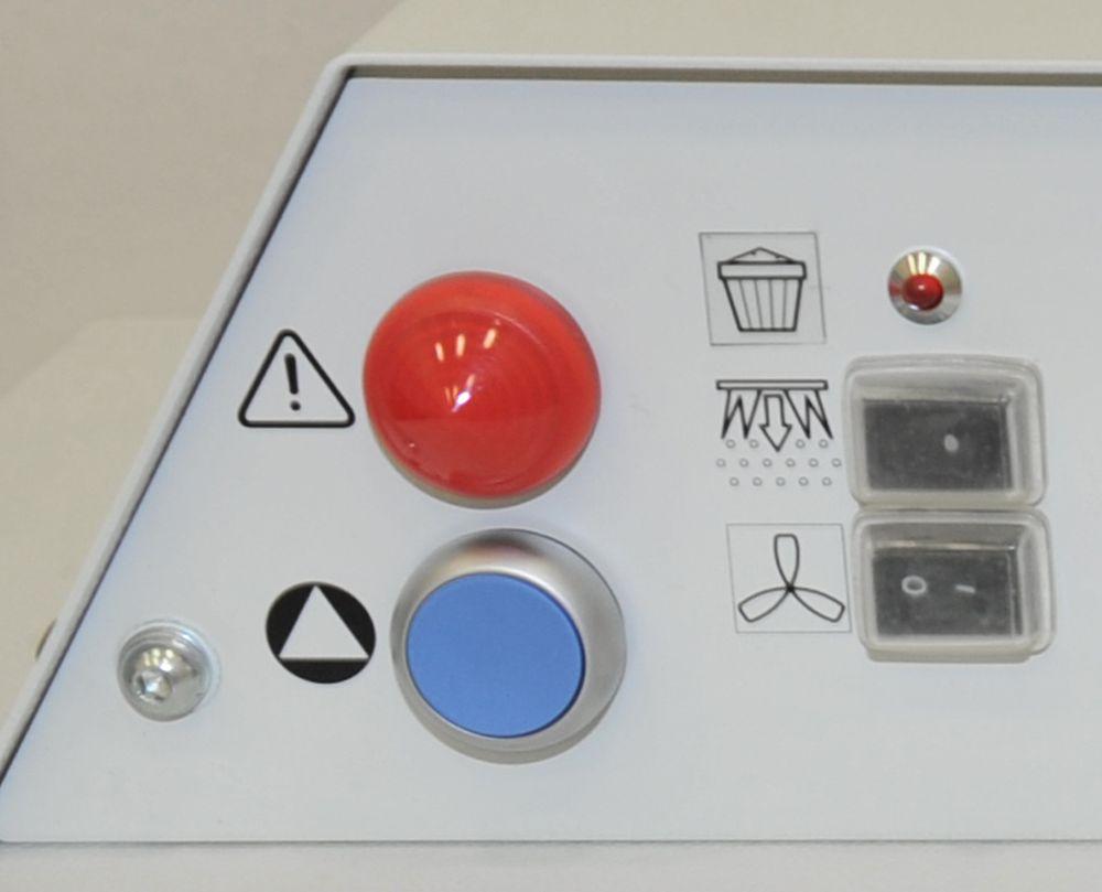 Kontrolllampe für Staubsammelschublade